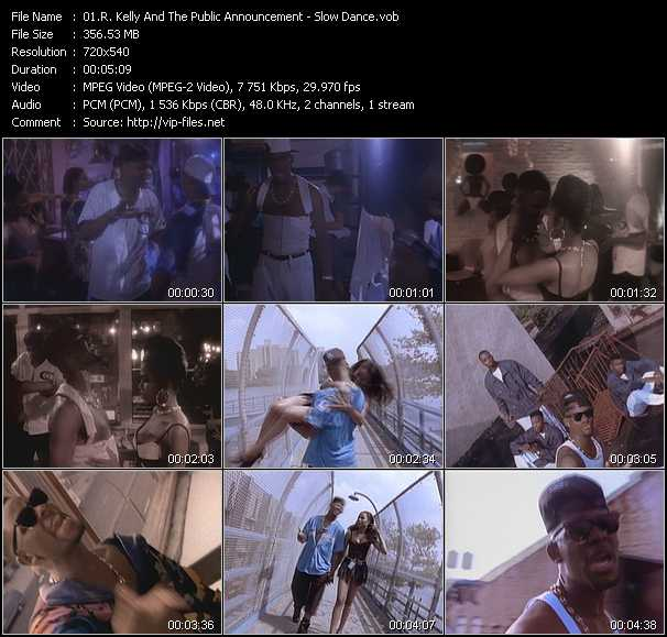 R. Kelly And Public Announcement Video Clip(VOB) vob