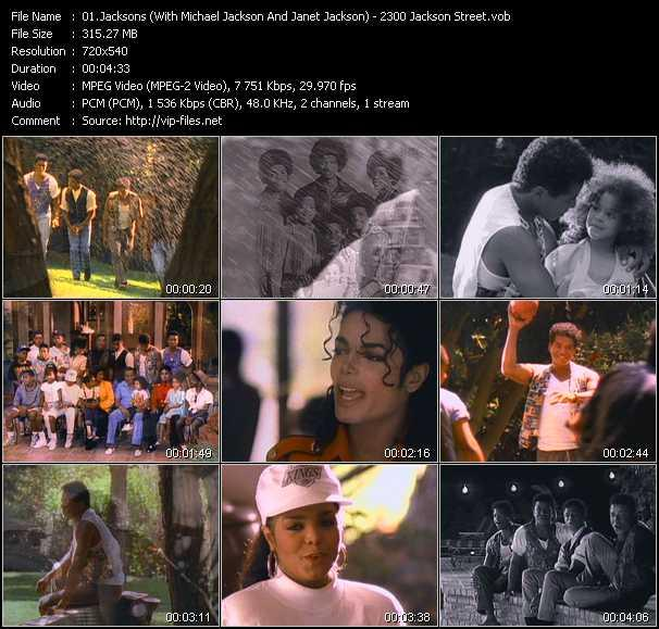 Jacksons (With Michael Jackson And Janet Jackson) Video Clip(VOB) vob