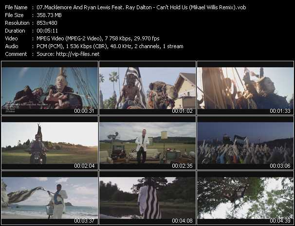 Macklemore And Ryan Lewis Feat. Ray Dalton Video Clip(VOB) vob