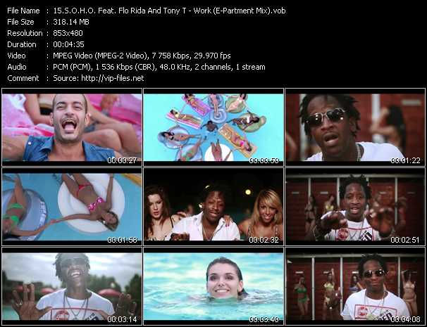 S.O.H.O. Feat. Flo Rida And Tony T Video Clip(VOB) vob