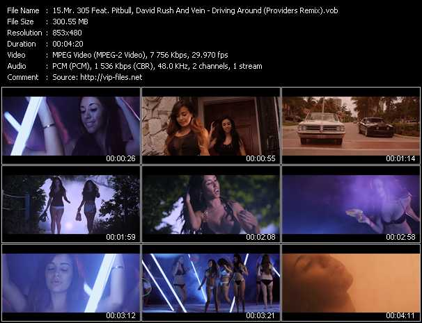 Mr. 305 Feat. Pitbull, David Rush And Vein Video Clip(VOB) vob