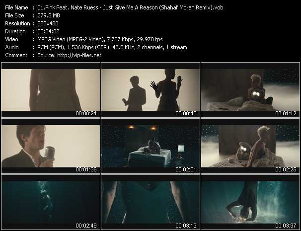Pink Feat. Nate Ruess Video Clip(VOB) vob