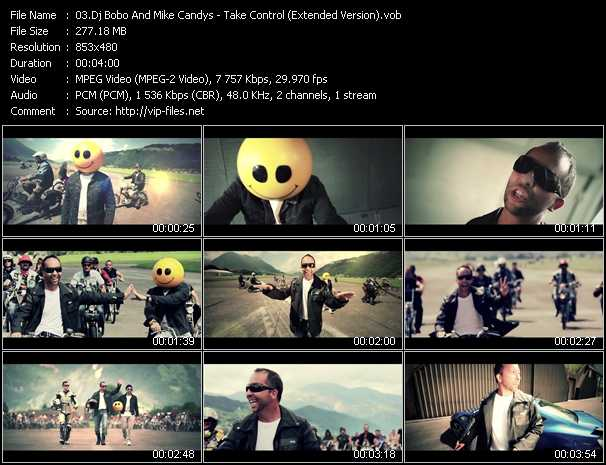 Dj Bobo And Mike Candys Video Clip(VOB) vob