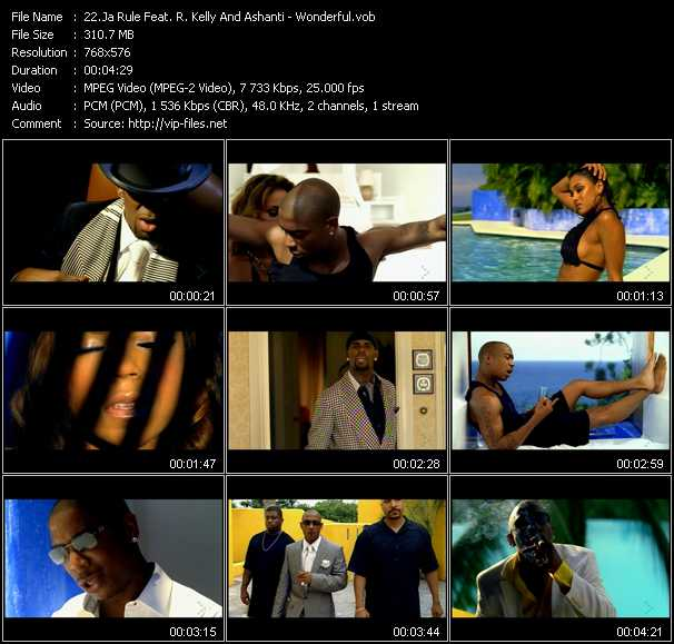 Ja Rule Feat. R. Kelly And Ashanti Video Clip(VOB) vob