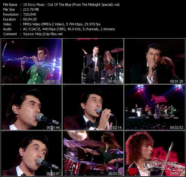 Roxy Music Video Clip(VOB) vob