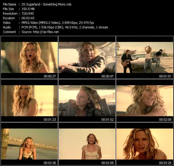 Sugarland Video Clip(VOB) vob