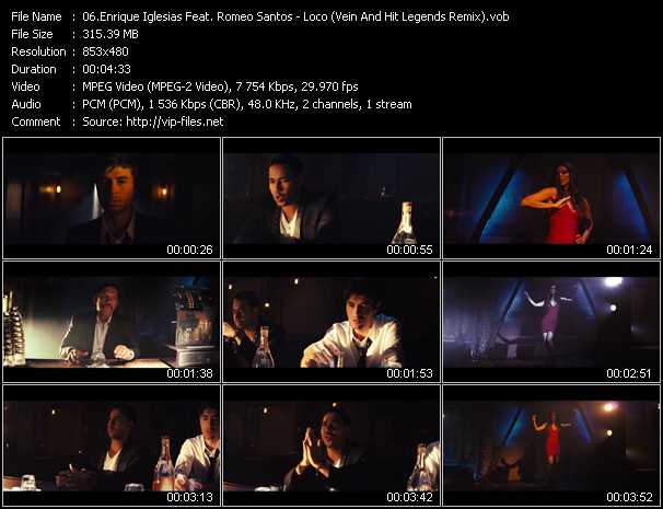 Enrique Iglesias Feat. Romeo Santos Video Clip(VOB) vob