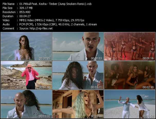 Pitbull Feat. Kesha Video Clip(VOB) vob
