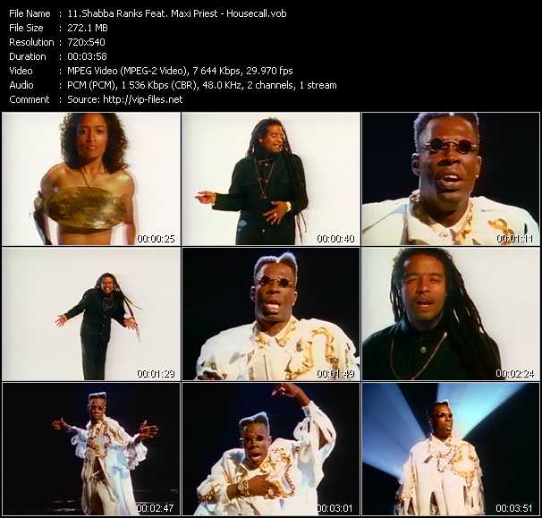 Shabba Ranks Feat. Maxi Priest Video Clip(VOB) vob