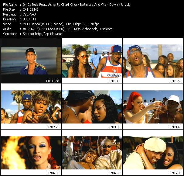 Ja Rule Feat. Ashanti, Charli Chuck Baltimore And Vita Video Clip(VOB) vob