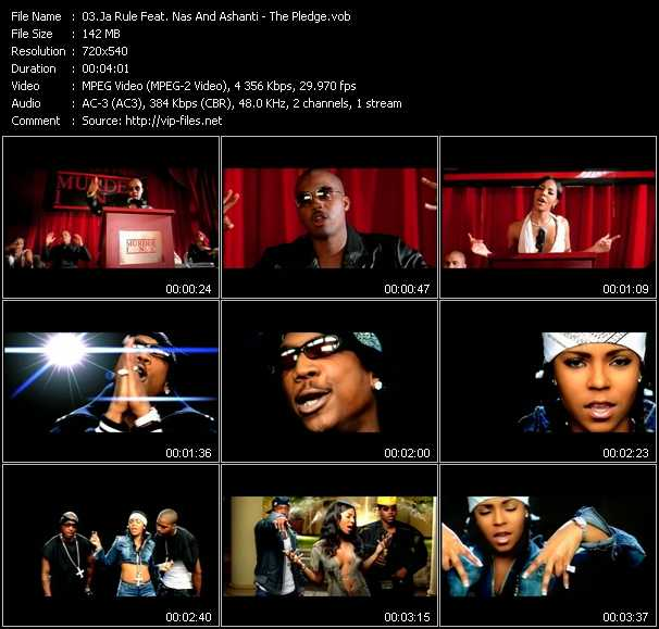 Ja Rule Feat. Nas And Ashanti Video Clip(VOB) vob