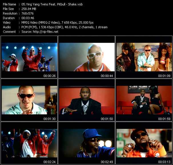 Ying Yang Twins Feat. Pitbull Video Clip(VOB) vob