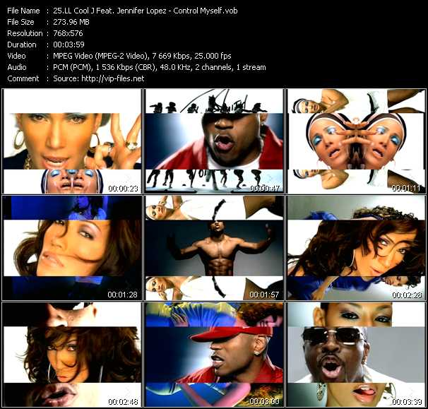 LL Cool J Feat. Jennifer Lopez Video Clip(VOB) vob