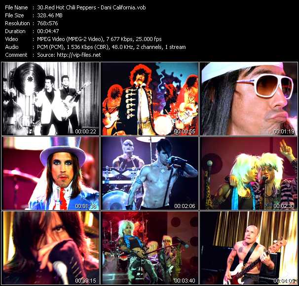 Red Hot Chili Peppers Video Clip(VOB) vob