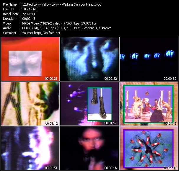 Red Lorry Yellow Lorry Video Clip(VOB) vob