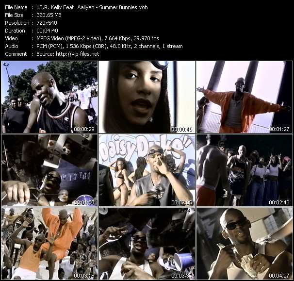 R. Kelly Feat. Aaliyah Video Clip(VOB) vob