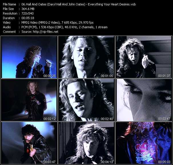 Hall And Oates (Daryl Hall And John Oates) Video Clip(VOB) vob
