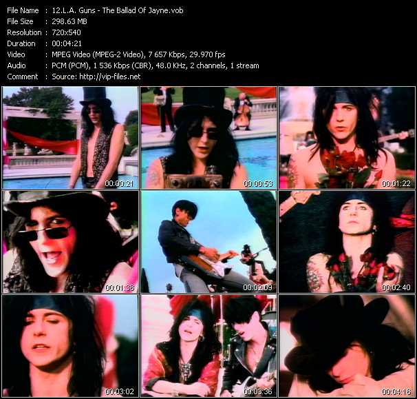 L.A. Guns Video Clip(VOB) vob
