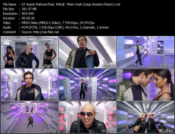 Austin Mahone Feat. Pitbull Video Clip(VOB) vob