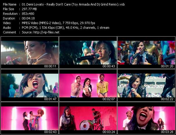 Demi Lovato Video Clip(VOB) vob
