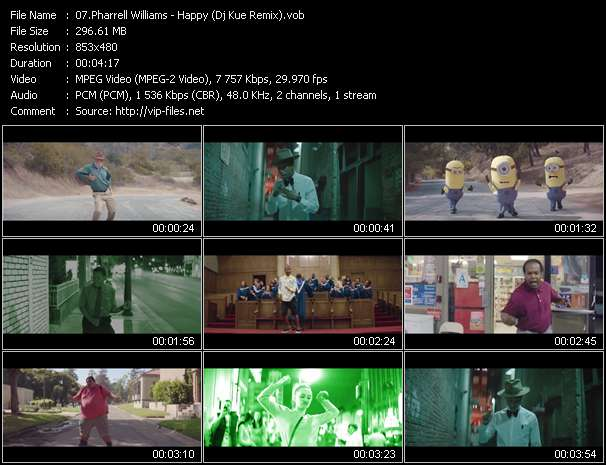 Pharrell Williams Video Clip(VOB) vob