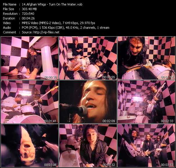 Afghan Whigs Video Clip(VOB) vob