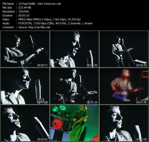 Paul Weller Video Clip(VOB) vob