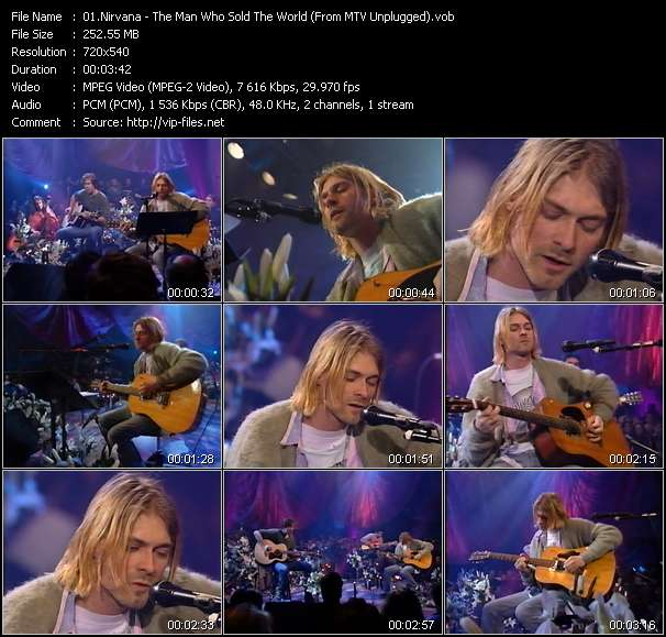 Nirvana Video Clip(VOB) vob
