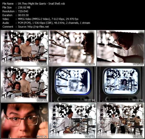They Might Be Giants Video Clip(VOB) vob