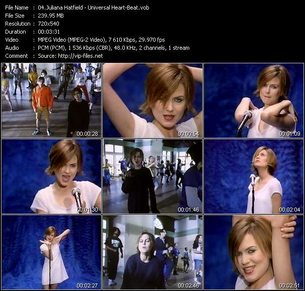 Juliana Hatfield Video Clip(VOB) vob