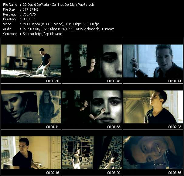 David DeMaria Video Clip(VOB) vob
