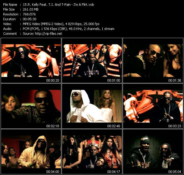 R. Kelly Feat. T.I. And T-Pain Video Clip(VOB) vob