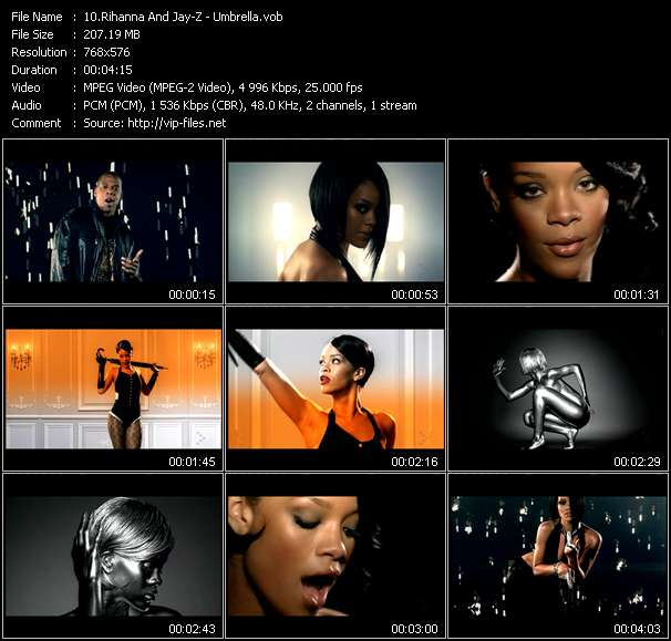 Rihanna And Jay-Z Video Clip(VOB) vob