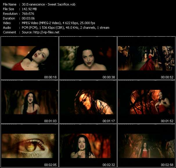 Evanescence Video Clip(VOB) vob
