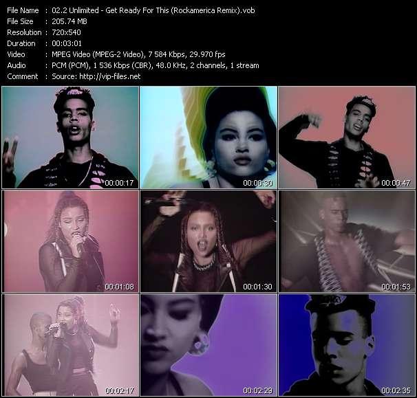 2 Unlimited Video Clip(VOB) vob