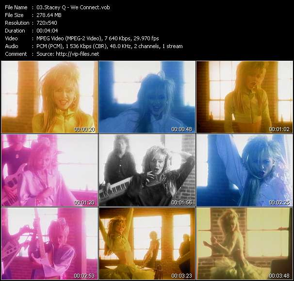 Stacey Q Video Clip(VOB) vob