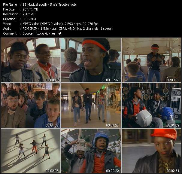 Musical Youth Video Clip(VOB) vob