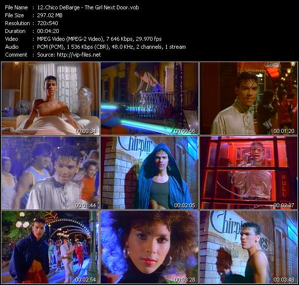 Chico DeBarge Video Clip(VOB) vob