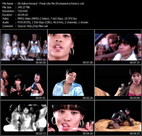 Adina Howard Video Clip(VOB) vob
