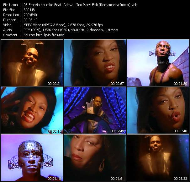 Frankie Knuckles Feat. Adeva Video Clip(VOB) vob
