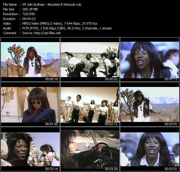 Jaki Graham Video Clip(VOB) vob