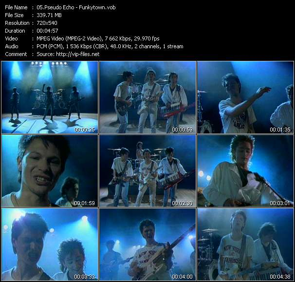 Pseudo Echo Video Clip(VOB) vob