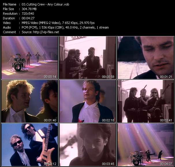 Cutting Crew Video Clip(VOB) vob