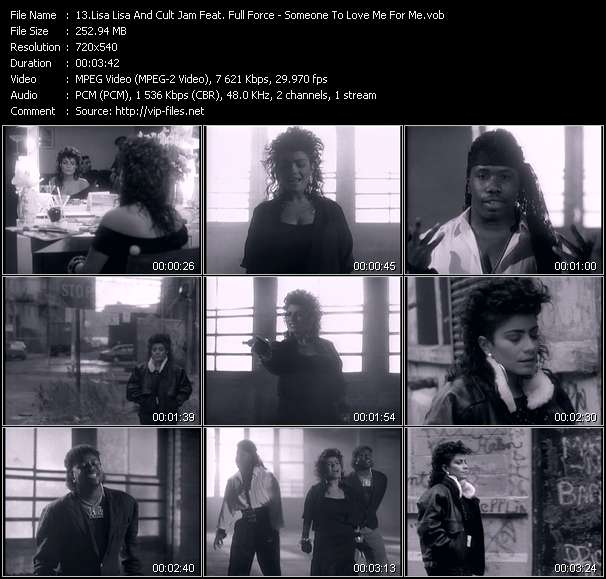 Lisa Lisa And Cult Jam Feat. Full Force Video Clip(VOB) vob
