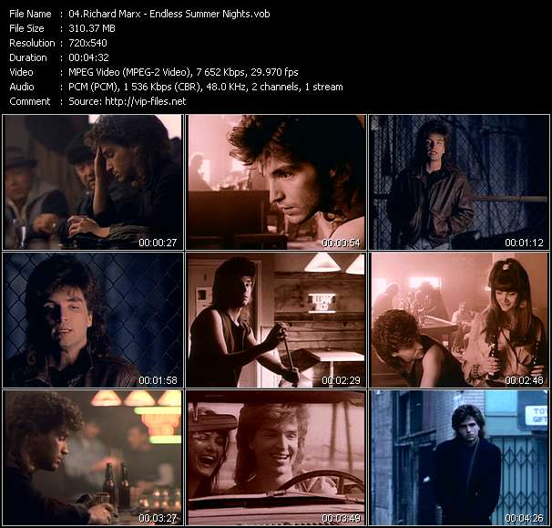Richard Marx Video Clip(VOB) vob