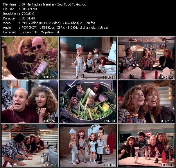 Manhattan Transfer Video Clip(VOB) vob