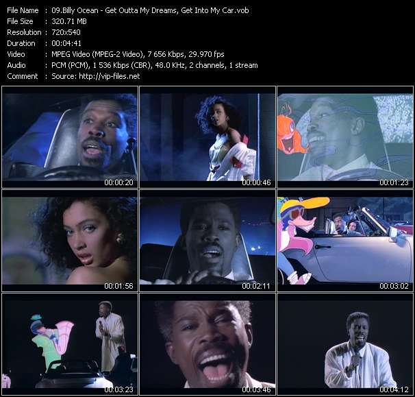 Billy Ocean Video Clip(VOB) vob