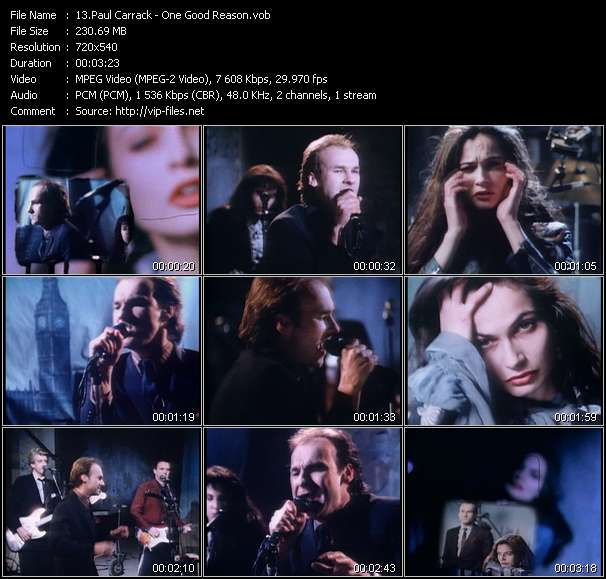 Paul Carrack Video Clip(VOB) vob