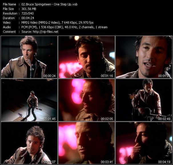 Bruce Springsteen Video Clip(VOB) vob