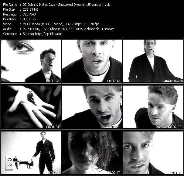 Johnny Hates Jazz Video Clip(VOB) vob